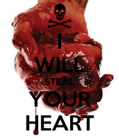 Poster: I WILL STEAL YOUR HEART