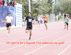 """Poster: """"If I get to be a legend, I've achieved my goal"""""""