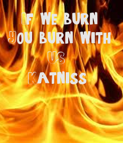 Poster:   If we burn, 