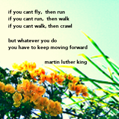 Poster: if you cant fly,  then run