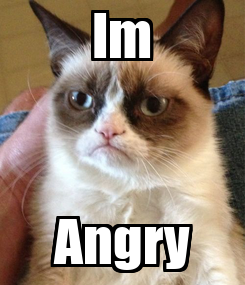 Poster: Im Angry