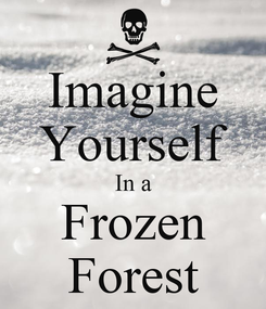 Poster: Imagine Yourself In a Frozen Forest