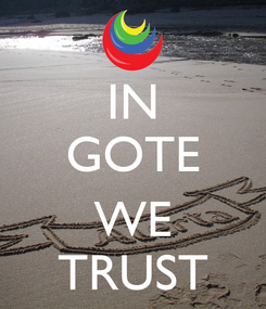 Poster: IN GOTE  WE TRUST