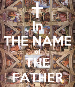 Poster: In THE NAME of THE FATHER