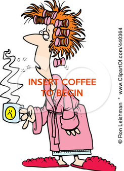 Poster: INSERT COFFEE TO BEGIN
