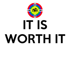 Poster: IT IS WORTH IT