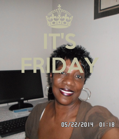 Poster: IT'S FRIDAY