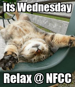 Poster: Its Wednesday Relax @ NFCC