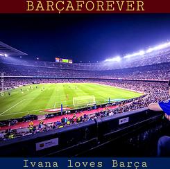 Poster:     IVANAARICO IVANA LOVES BARÇA