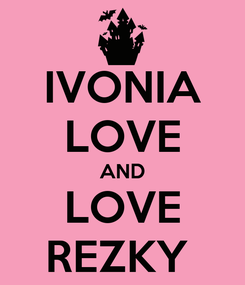 Poster: IVONIA LOVE AND LOVE REZKY