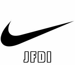 Poster:  J F D I
