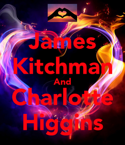 Poster: James Kitchman And Charlotte Higgins