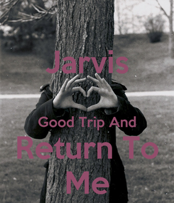 Poster: Jarvis  Good Trip And Return To Me