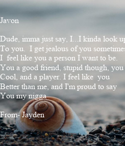 Poster: Javon