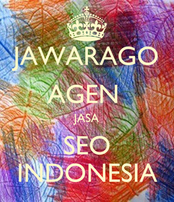 Poster: JAWARAGO AGEN  JASA SEO INDONESIA