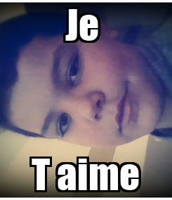 Poster: Je  T aime