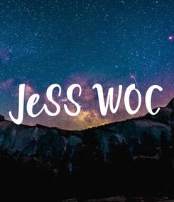 Poster: JeSS WOC