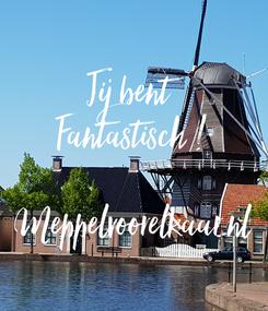 Poster: Jij bent  Fantastisch !  Meppelvoorelkaar.nl