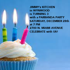 Poster: JIMMY'z KITCHEN 