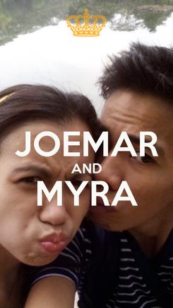 Poster:  JOEMAR AND MYRA