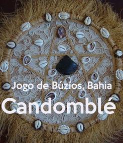 Poster:   Jogo de Búzios, Bahia Candomblé
