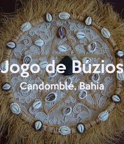 Poster:  Jogo de Búzios Candomblé, Bahia
