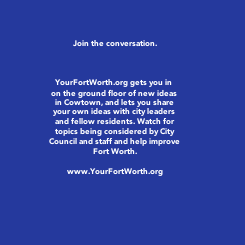 Poster: Join the conversation.