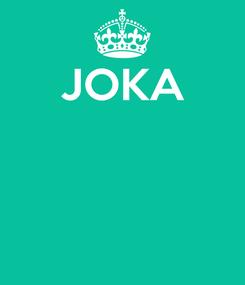 Poster: JOKA