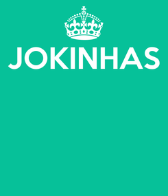 Poster: JOKINHAS