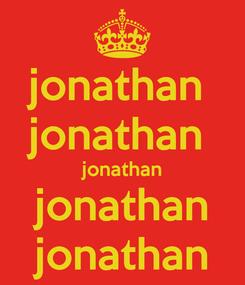 Poster: jonathan  jonathan  jonathan jonathan jonathan