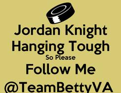 Poster: Jordan Knight Hanging Tough So Please Follow Me @TeamBettyVA