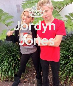 Poster: Jordyn  Jones