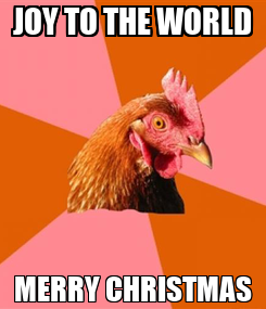 Poster: JOY TO THE WORLD MERRY CHRISTMAS