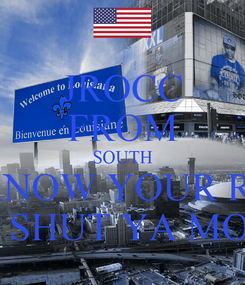 Poster: JROCC FROM SOUTH SO KNOW YOUR ROLE AND SHUT YA MOUTH