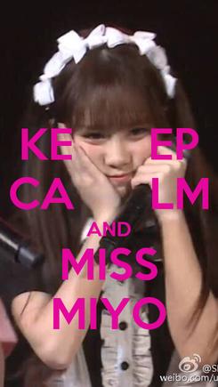 Poster: KE      EP CA      LM AND MISS MIYO