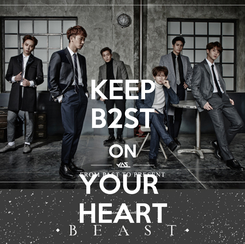 Poster: KEEP B2ST ON YOUR  HEART
