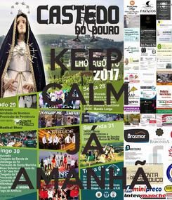 Poster: KEEP CALM É JÁ AMANHÃ