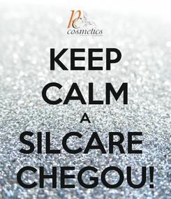 Poster: KEEP CALM A SILCARE  CHEGOU!