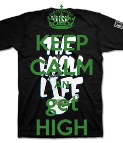 Poster: KEEP CALM AN get HIGH
