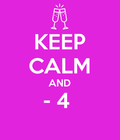 Poster: KEEP CALM AND - 4