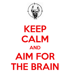 Poster: KEEP CALM AND AIM FOR THE BRAIN