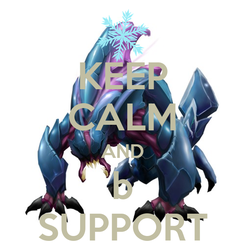 Poster: KEEP CALM AND b SUPPORT