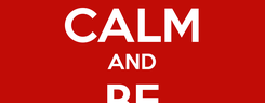 Poster: KEEP CALM AND BE VOTER