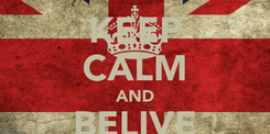Poster: KEEP CALM AND BELIVE LAL'Z !