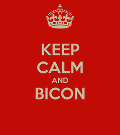 Poster: KEEP CALM AND BICON