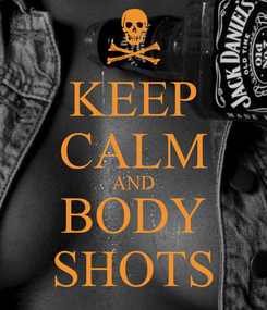 Poster: KEEP CALM AND BODY SHOTS