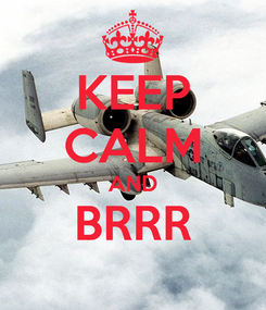 Poster: KEEP CALM AND BRRR