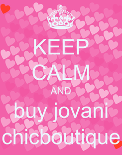 Poster: KEEP CALM AND buy jovani chicboutique