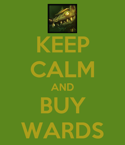 Poster: KEEP CALM AND BUY WARDS