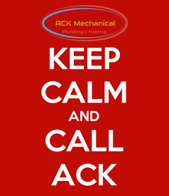 Poster: KEEP CALM AND CALL ACK
